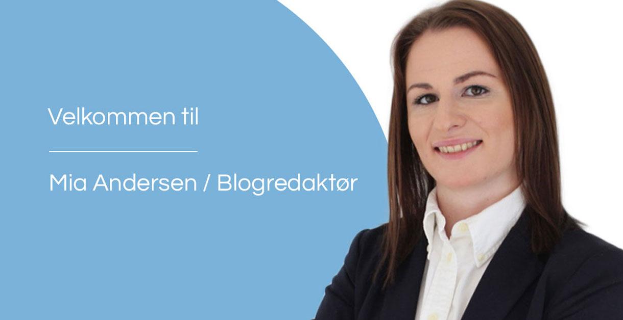 Velkommen til Mia Andersen