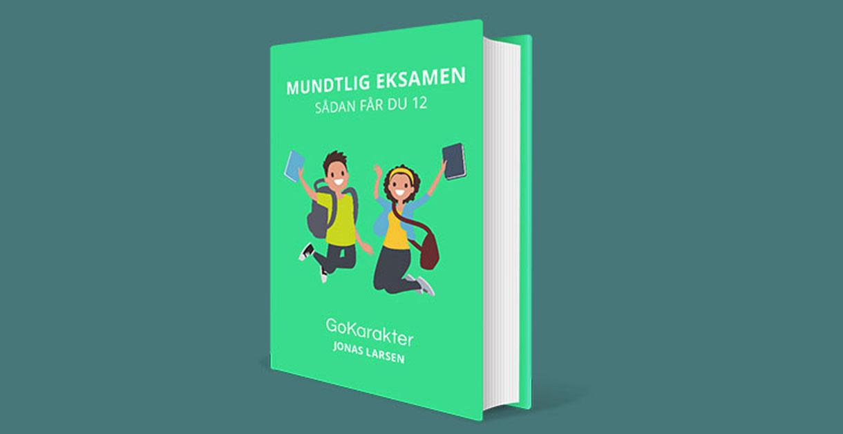 Gratis e-bog – Mundtlig eksamen: Sådan får du 12